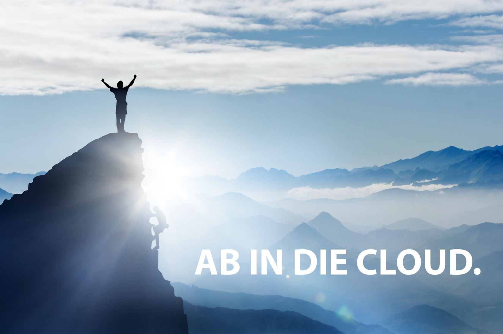 Ab in die Cloud